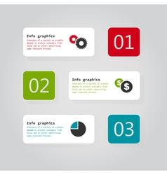 Info graphics4 vector image