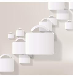 portfolio web icon vector image