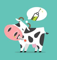 Sick cow swine flu a vaccination vector