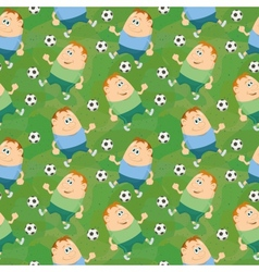 Soccer seamless vector image