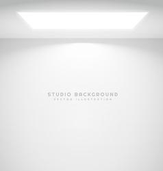 studio wall light vector image
