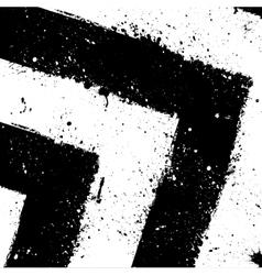 Grunge ink blots background vector image