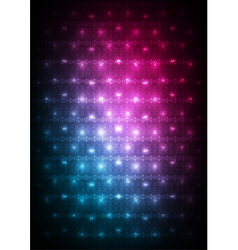 Abstract red blue background vector image vector image