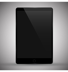 modern tablet pc vector image vector image