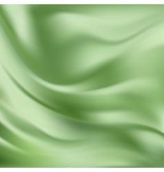 Abstract Texture Green Silk vector image