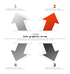 Info graphics6 vector image vector image