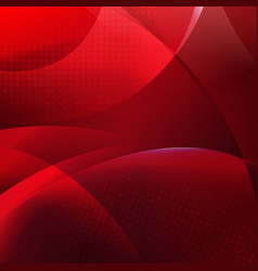 red dinamic background vector image vector image