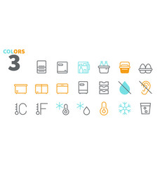 Fridge ui pixel perfect well-crafted thin vector
