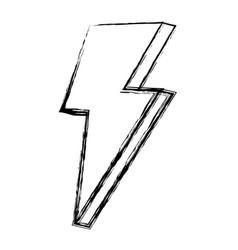 grunge nice light thunder art design vector image