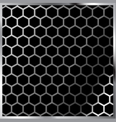 Honeycomb pattern hexagonal vector