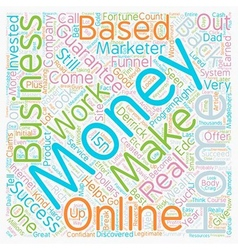 Make Money From Home In A Home Based Business That vector