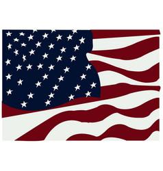 Us flag icon vector