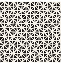 Wavy Hand Drawn Lines Triangles Grid vector