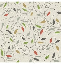 floral seamless pattern eps10 vector image vector image
