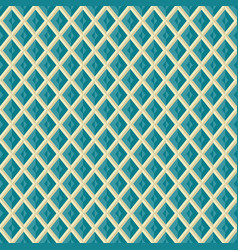 seamless rhombus grid pattern geometric texture vector image vector image