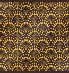 abstract antique classic gold luxury art deco vector image
