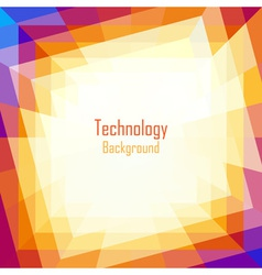 Abstract Coloful Technology Background vector image