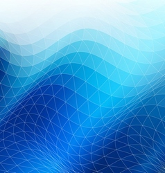Blue geometric abstract background vector