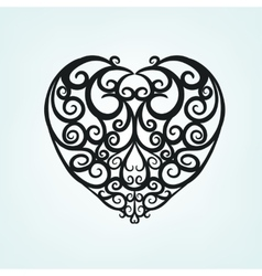 Heart Pattern 06 A vector image