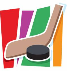Hockey graphic vector