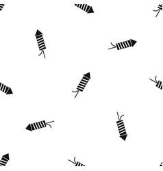 petard pattern seamless black vector image