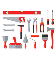 repair and construction tools household vector image