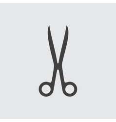 Scissors icon vector image vector image