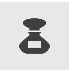 Perfume bottle icon vector image vector image