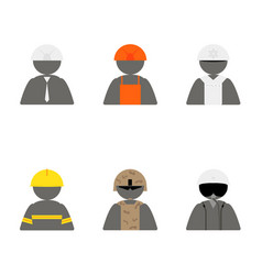 specialized clothes for social workers vector image