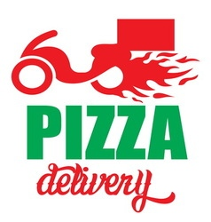 pizza delivery5 resize vector image vector image