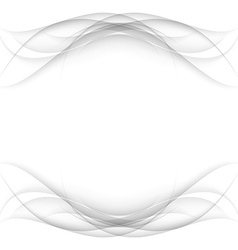 Abstract white frame - data stream concept vector