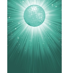 Beidge disco rays with stars EPS 8 vector