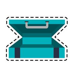 Briefcase luggage icon image vector