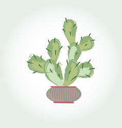 cactus in vector image