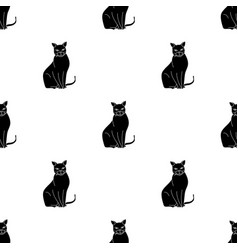 Chartreux icon in black style isolated on white vector