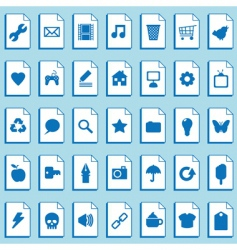 classic computer files vector image