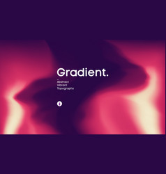 fluid gradient background design futuristic vector image