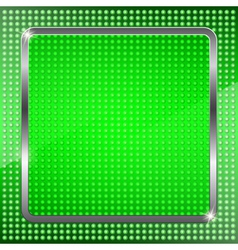 Green fluorescent background vector image