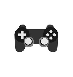 joystick game graphic design element vector image