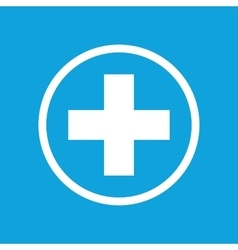 Medical sign icon 2 vector
