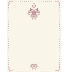 Retro paper sheet vector