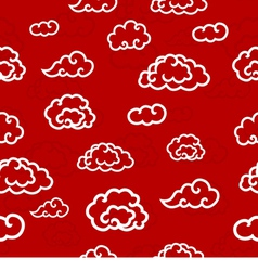 Abstract Seamless Clouds Background vector