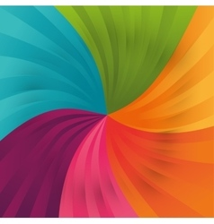 Background of varied colors vector image