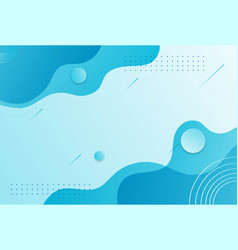 blue abstract landscape background for business vector image