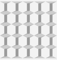 Gray seamless pattern with triangles and trapezes vector