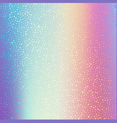 Holographic foil hologram background with vector