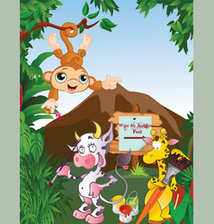 Jungle book vector