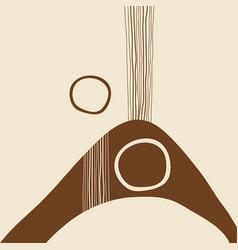 Modern abstract art vector