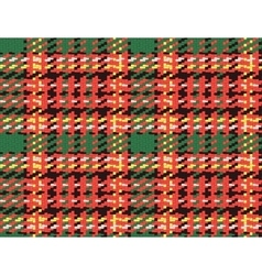 Seamless checked material pattern tartan and vector image