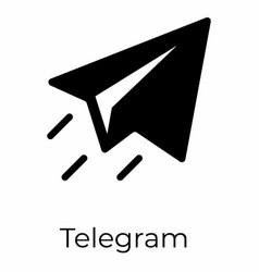 Send telegram vector